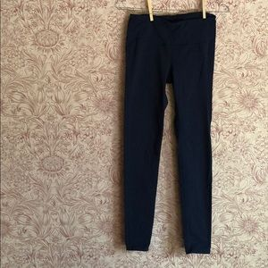 Athleta navy skinny yoga pants leggings small